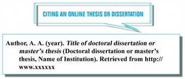 Dissertation citations