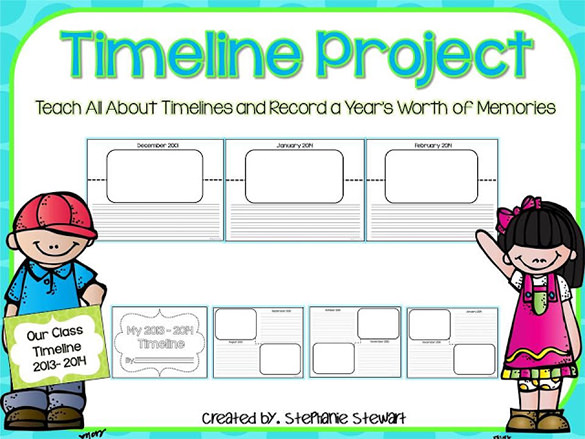 timeline project for students